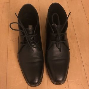 Men's Steve Madden black lurano Oxfords